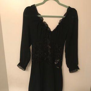 Just Cavalli black dress SZ 40 10/10 condition